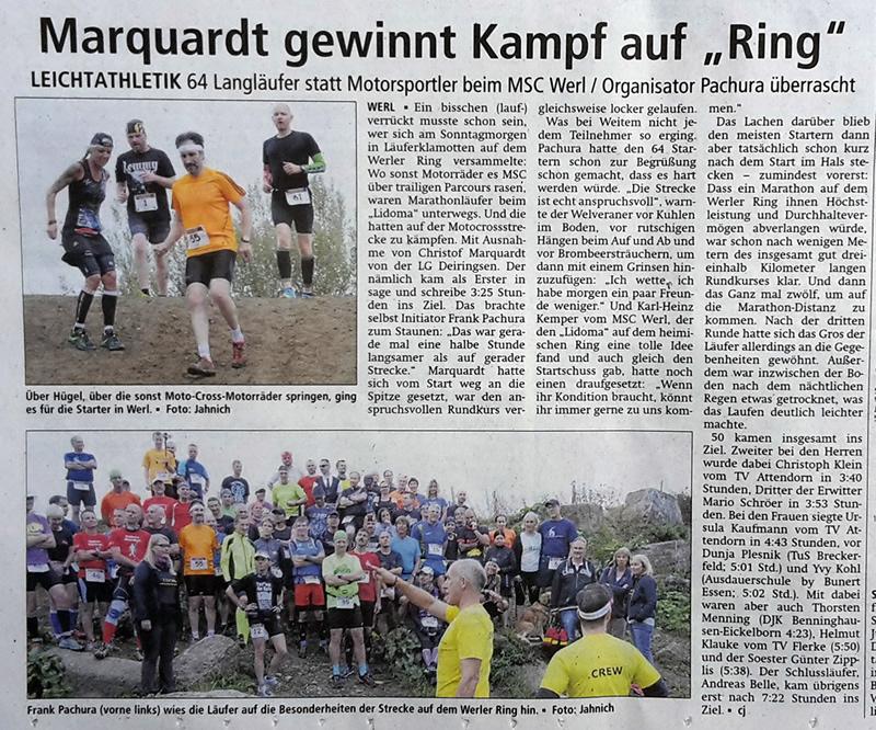 Soester Anzeiger vom 20. September 2016
