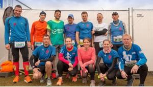 Einige Läuferinnen und Läufer aus der Bittermärker Gruppe in Venlo (Foto: M. Richter)