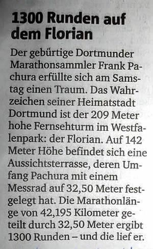 Ruhr Nachrichten vom 7. April 2016