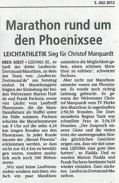 Soester Anzeiger vom 05. Juli 2012