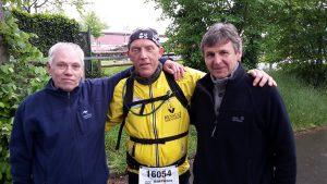 Meine Crew Wolfgang und Uwe
