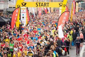 Start des Marathons (MMP)